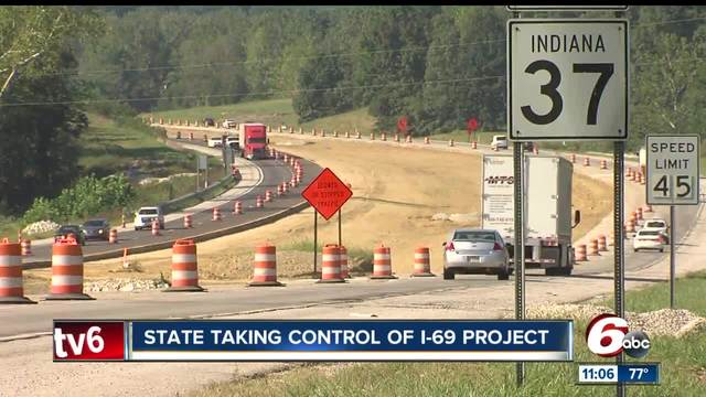 Deal gives INDOT direct control of delayed I-69 Section 5