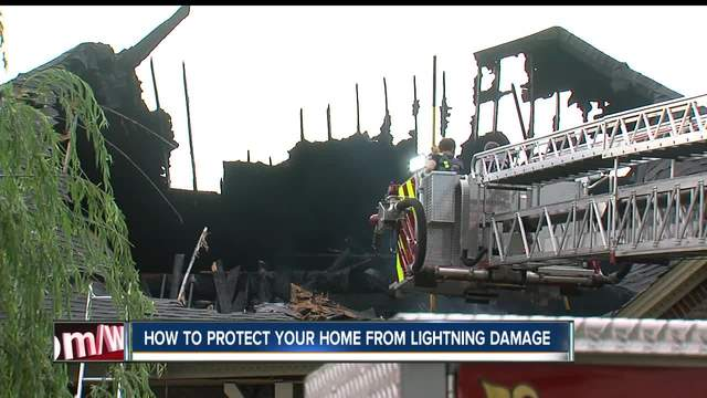 lightning damage how to protect your home from lightning damage theindychannel