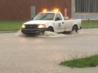 PHOTOS: Cars stuck in high water across Indy