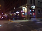 Person in hospital after downtown Indy stabbing