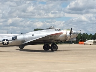 PHOTOS: B-17 'Madras Maiden' stops in Indy