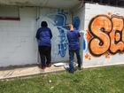Summer graffiti-removal program starts in Indy