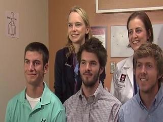 Crash victims reunite with life-saving doctors