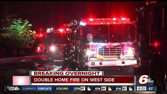 Firefighter injured working north side electrical fire
