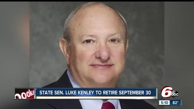 Republican state Sen. Luke Kenley announces retirement