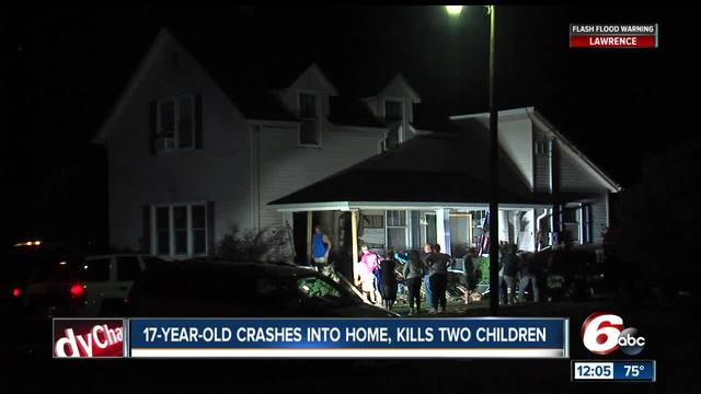 UPDATE: Two children killed after car crashes into Clinton Co. home