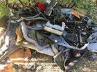 DNR hunts for cemetery car-part dumper