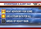 Heat advisory for parts of central Indiana