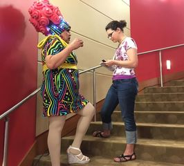 PICS: Drag Queen Storytime at the Indy library