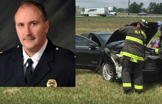 IMPD deputy chief critical after crash with semi