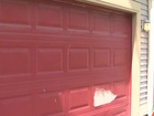 Thieves cut garage doors on Indy's NE side
