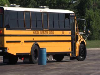 School bus drivers training to keep kids safe