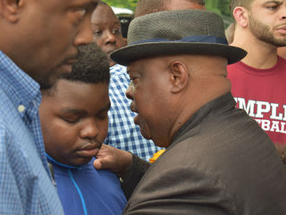 PHOTOS: After shooting, pastors pray for youth