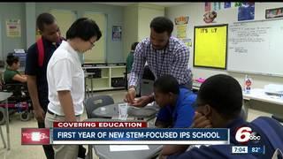 First year of IPS STEM-focused school