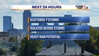 Next 24 Hours: Scattered T'Storms