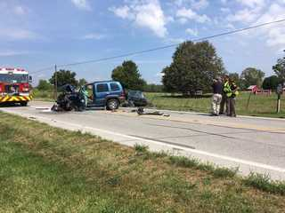 One killed in two-car accident in Johnson County