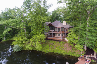 HOME TOUR: $2M luxury cabin on the water