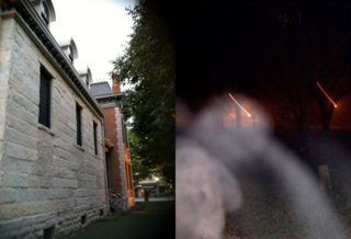 Ghost hunters get spooked by paranormal activity