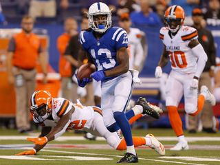 Colts claim first win of season against Browns