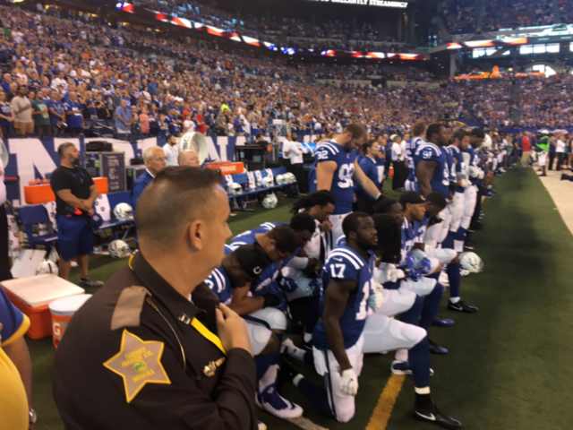 Local American Legion Post protests NFL in response to national anthem boycott