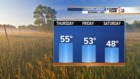 Cooler temperatures ahead!