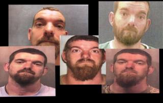 PICS: Daniel Nations mugshots, charges
