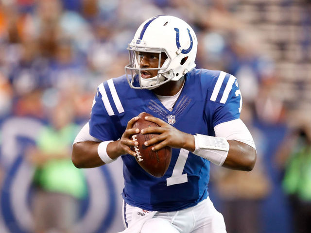 Jacoby Brissett: Fans in Seattle will be drunk and very loud