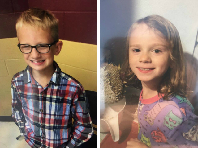 Police search for missing young brother and sister in Porter County, Indiana