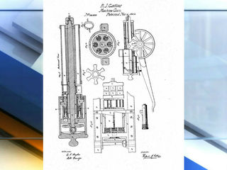 First modern machine gun invented in Indy