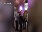 VIDEO: Pushing, shouting match in church