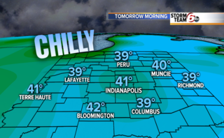 Clear skies lead to another chilly night