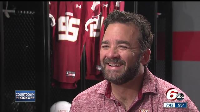Jeff Saturday- From Indianapolis Colts to high school head coach