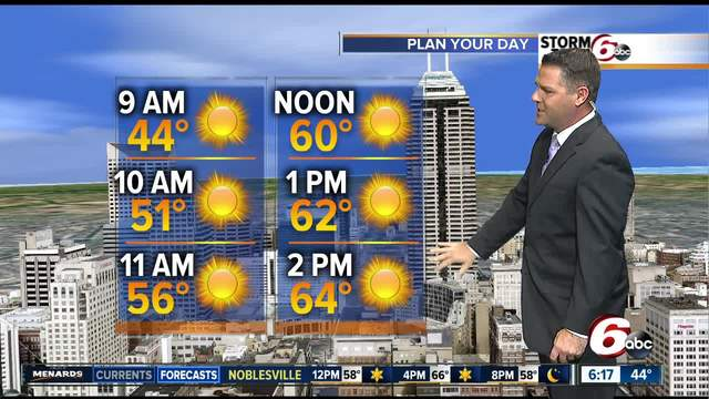 Chilly start- but sunshine is coming today