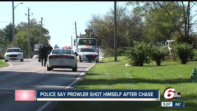 Man injured after chase leads police through two counties
