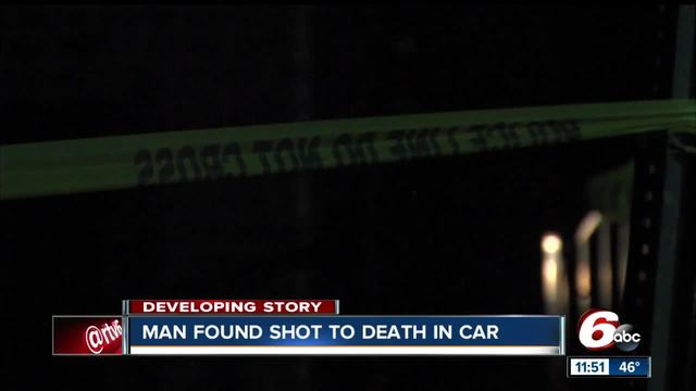 Man found shot dead in vehicle on Indy-s northeast side- death…