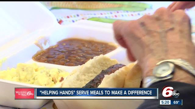 Helping Hands women-s group serves meals to those in need
