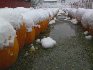 Earliest snow in Indy history? Mid-October 1989