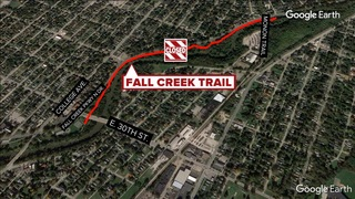 Sewer project closes portion of Fall Creek Trail