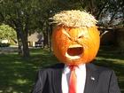 'Trumpkin' scarecrow becomes Carmel attraction