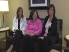 Breast cancer clinic workers are also survivors