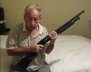 WATCH: 84-yr-old grandpa fires back at intruders