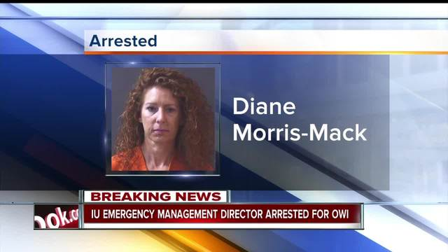 IU emergency management director accused of OWI