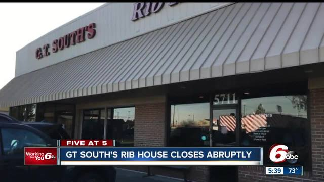 GT South-s Rib House closes after 25 years