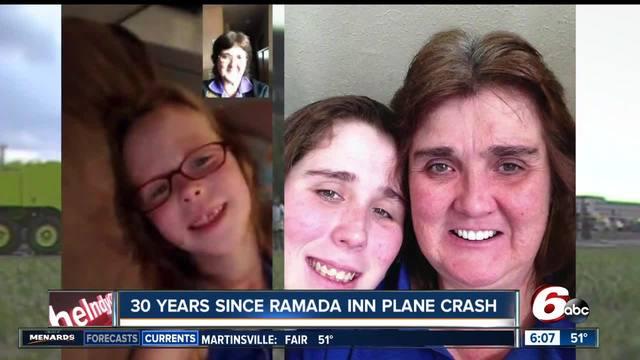 Woman who slept through 1987 Ramada plane crash looks back