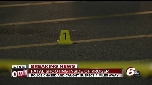 Shooting victim found in Kroger parking lot