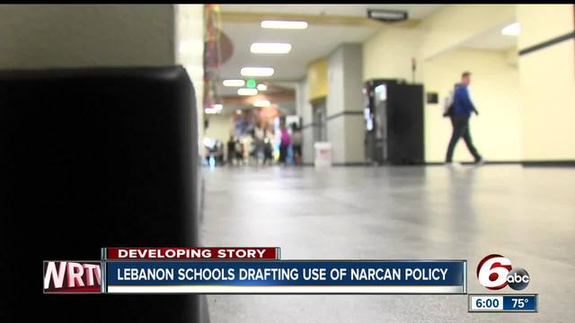 Narcan overdose treatment drug could be carried at Lebanon schools