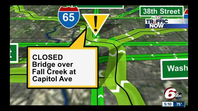 Road closures to watch out for in Indianapolis