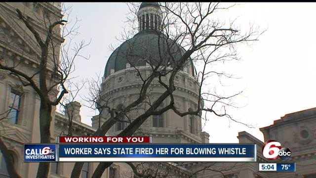 Whistleblower claims state fired her for calling out misuse of funds