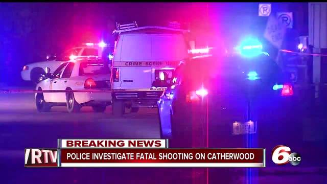 Person shot- killed on Indianapolis- east side on South Catherwood Avenue