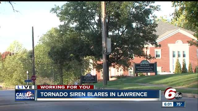 Tornado siren test blares for more than an hour in Lawrence